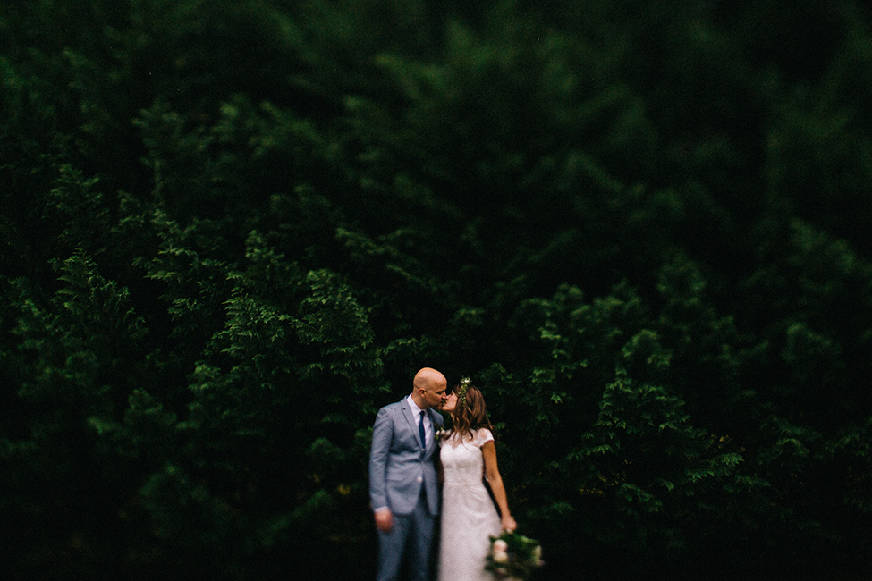 Julie + Matthew | An Intimate Wedding at Round Knob Lodge