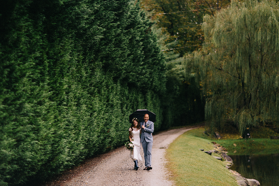 Adventurous wedding photographs in the mountains of north carolina, photographed by we are the hoffmans.