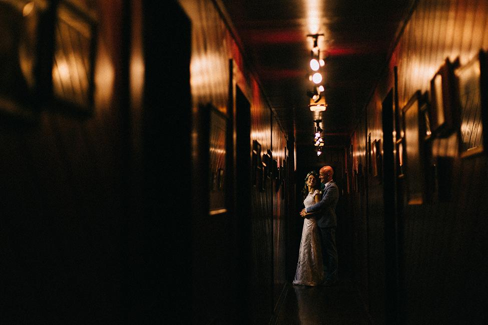 Matt and Julie dance during an intimate wedding at round knob lodge, near the blue ridge parkway.