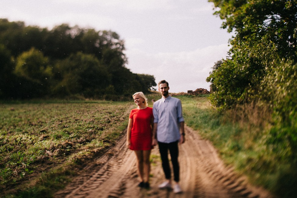 Beautiful tilt shift image shot by Zachary of we are the hoffmans, in Denmark.