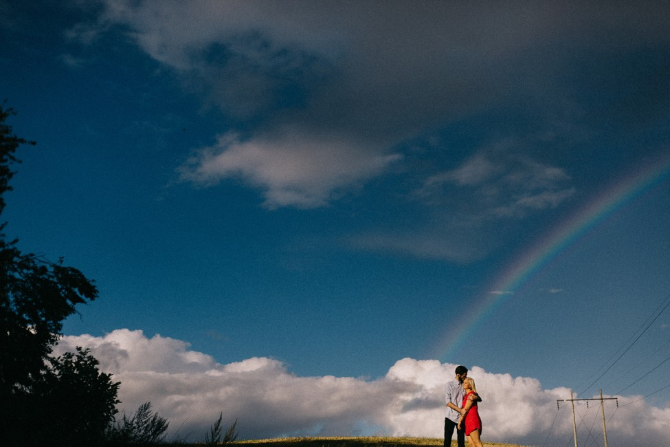 European adventure photographers, Zachary and Jenny Hoffman, take pictures of couples in Denmark.