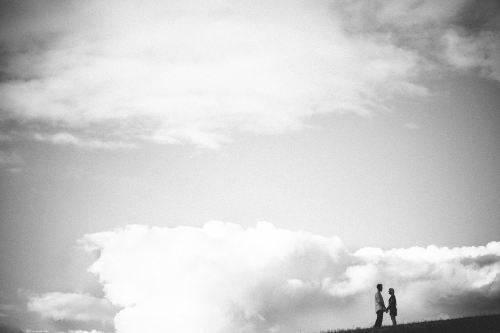 Black and white engagement photography for couples getting married in Copenhagen.