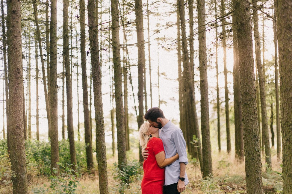 Miriam and Caleb loved this wooded forest for their adventure session.