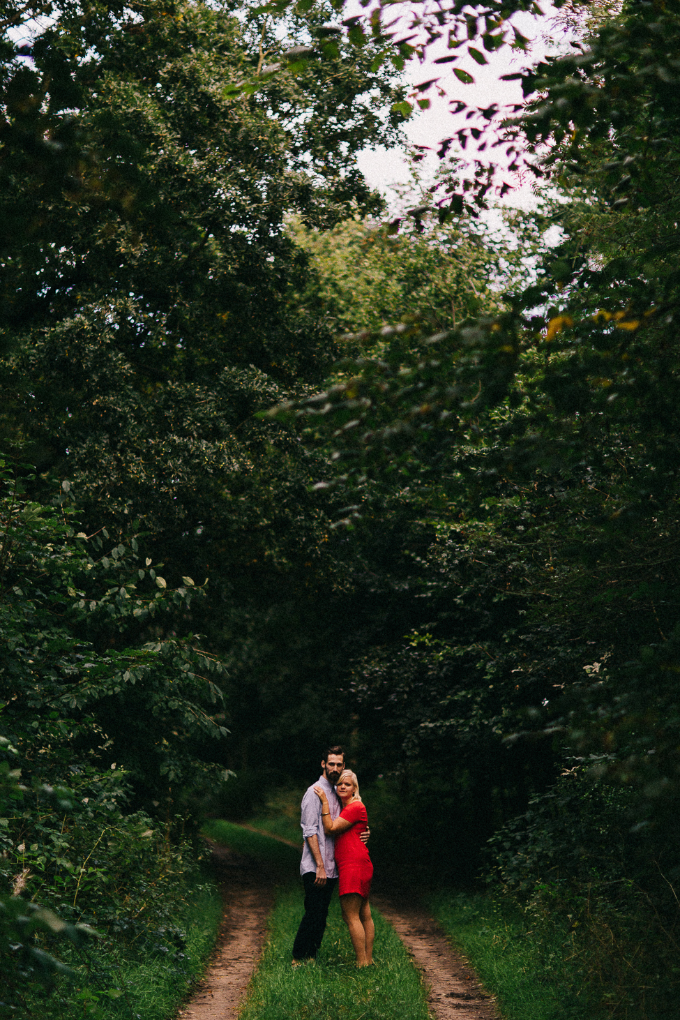 An intimate session with a Danish couple from a Copenhangen wedding venue.