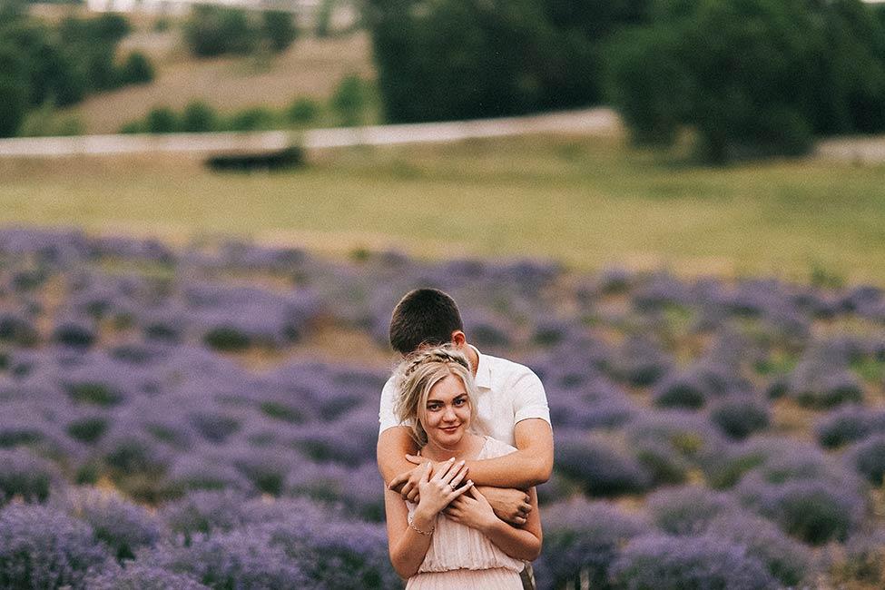 European couple photographed near Chisinau Moldova.