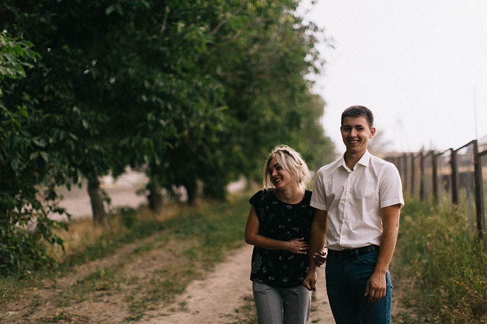 Alina and Marc's engagement photos near Chisinau, Moldova by We are the Hoffmans wedding photographers.
