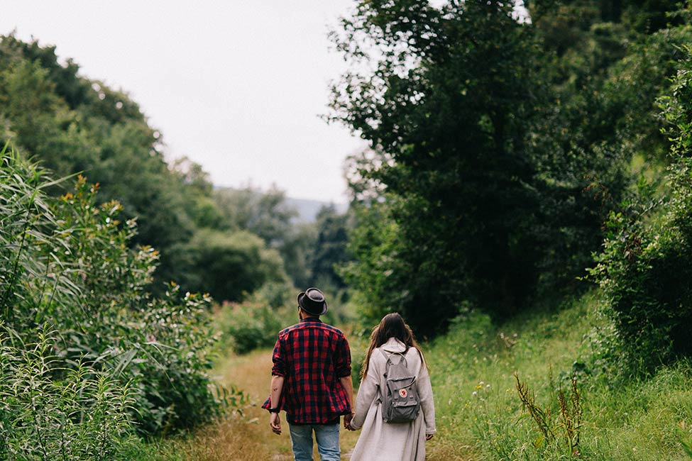 European adventure engagement session captured by we are the hoffmans.
