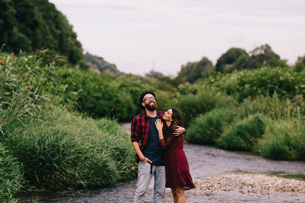 Great engagement photography does not need posed portraits.