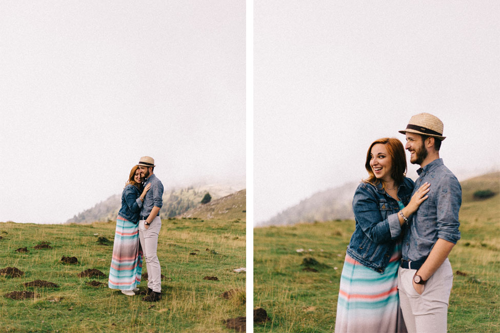 Fun engagement photos in Italy.
