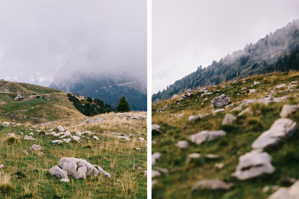 Beautiful monte baldo would be the perfect destination for an elopement wedding.